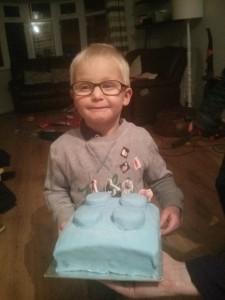 Seth's Lego Cake